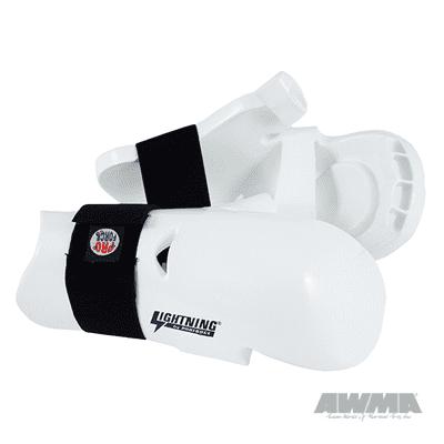 ProForce Lightning Sparring Gloves / Punch - White Child Large