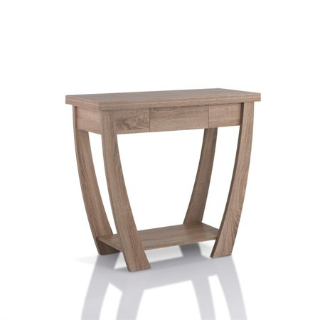 Awe Inspiring Furniture Of America Quaint Console Table In Light Oak Gmtry Best Dining Table And Chair Ideas Images Gmtryco