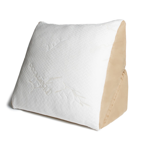 Avana Memory Foam Flip Pillow with Bamboo Cover