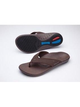 51a546a4e11 Product Image Spenco Yumi Men s Orthotic Flip Flops - Dark Olive