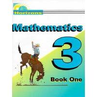 Horizons Math 3 Student Book 1 : Jms031