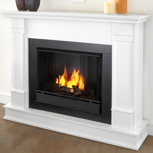 Real Flame Silverton Gel Fuel Fireplace Walmart Com