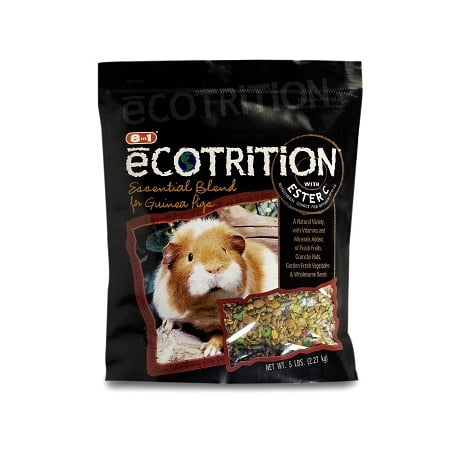5 Lb Guinea Pig Food - eCOTRITION™ Essential Blend Food for Guinea Pigs 5 lb