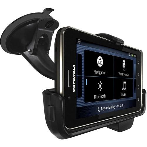 Motorola Vehicle Navigation Dock - Car holder/charger - for Motorola DROID BIONIC