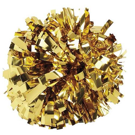 Pizzazz Metallic Gold Cheer Single Pom Pom](Halloween Poem Cute)