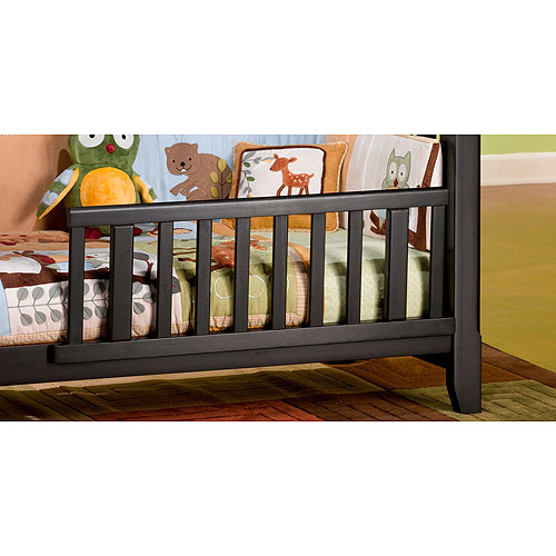 Child Craft Logan Toddler Bed Rails, Jamocha