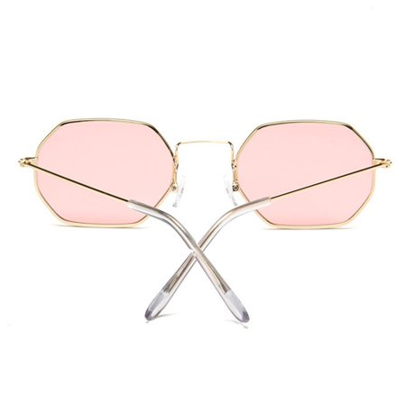 Stylish Color-Film Square Sunglasses Driving Glasses for Street Snap Birthday Gift - image 3 of 7