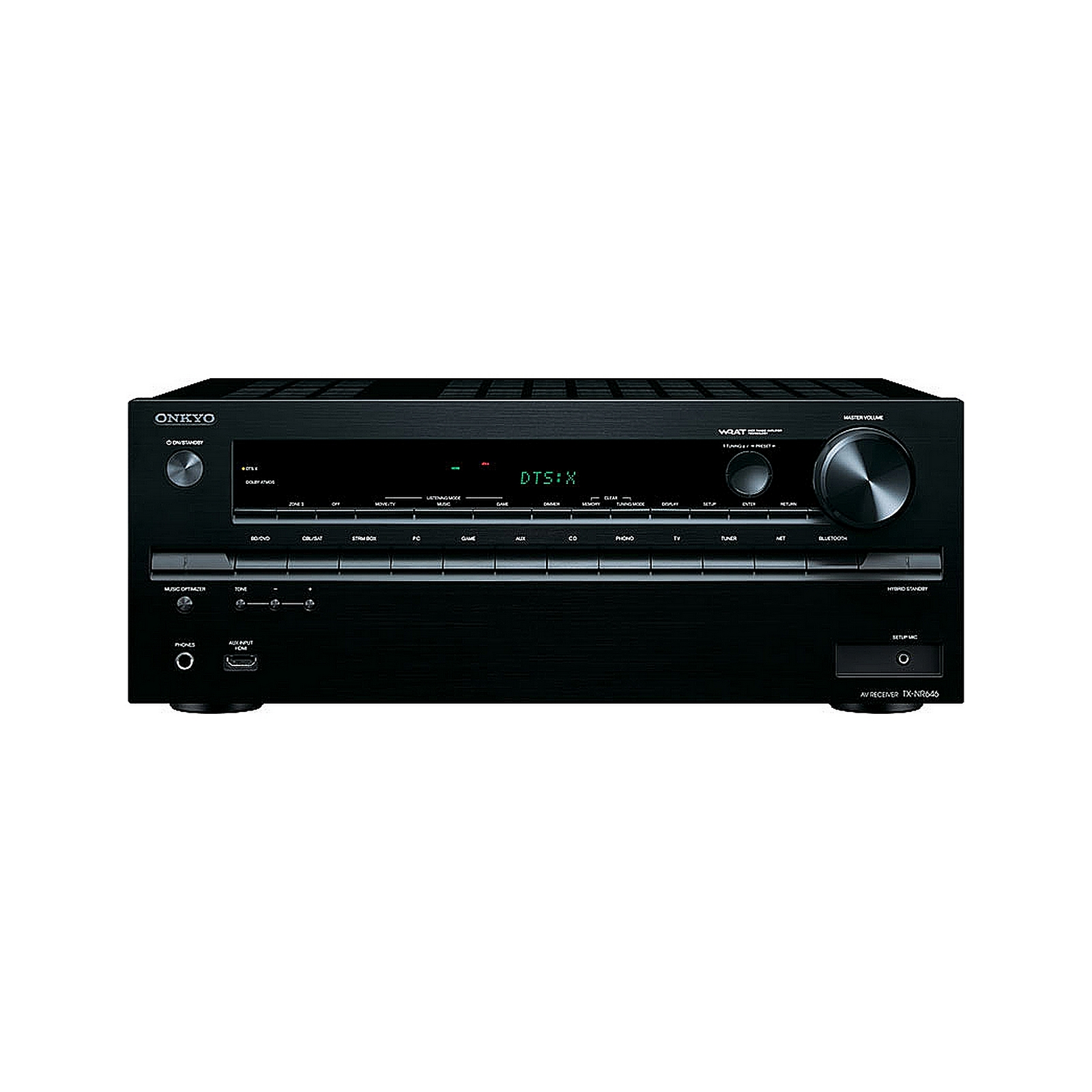 Onkyo TX-NR646 | 7.2 Channel Network A V Receiver with Wi-Fi and Bluetooth by Onkyo