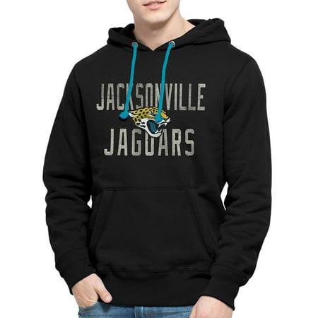 Click here to buy Jacksonville Jaguars 47 Brand Black Cross-Check Pullover Hoodie Sweatshirt by .