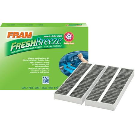 FRAM Fresh Breeze Cabin Air Filter, CF10388