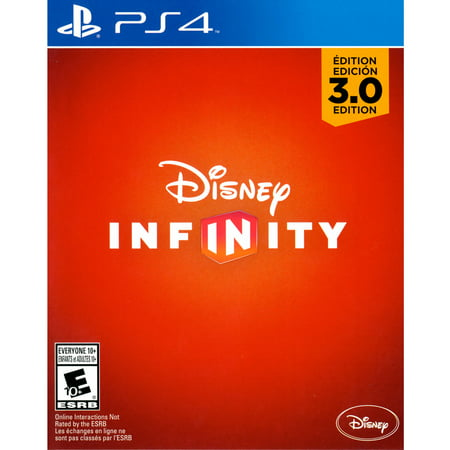 Infinity 3.0 Game Only (PS4) - (Best Disney Infinity Game For Ps4s)