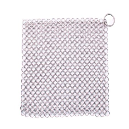 Finger Iron Cleaner Stainless Steel Chainmail Scrubber