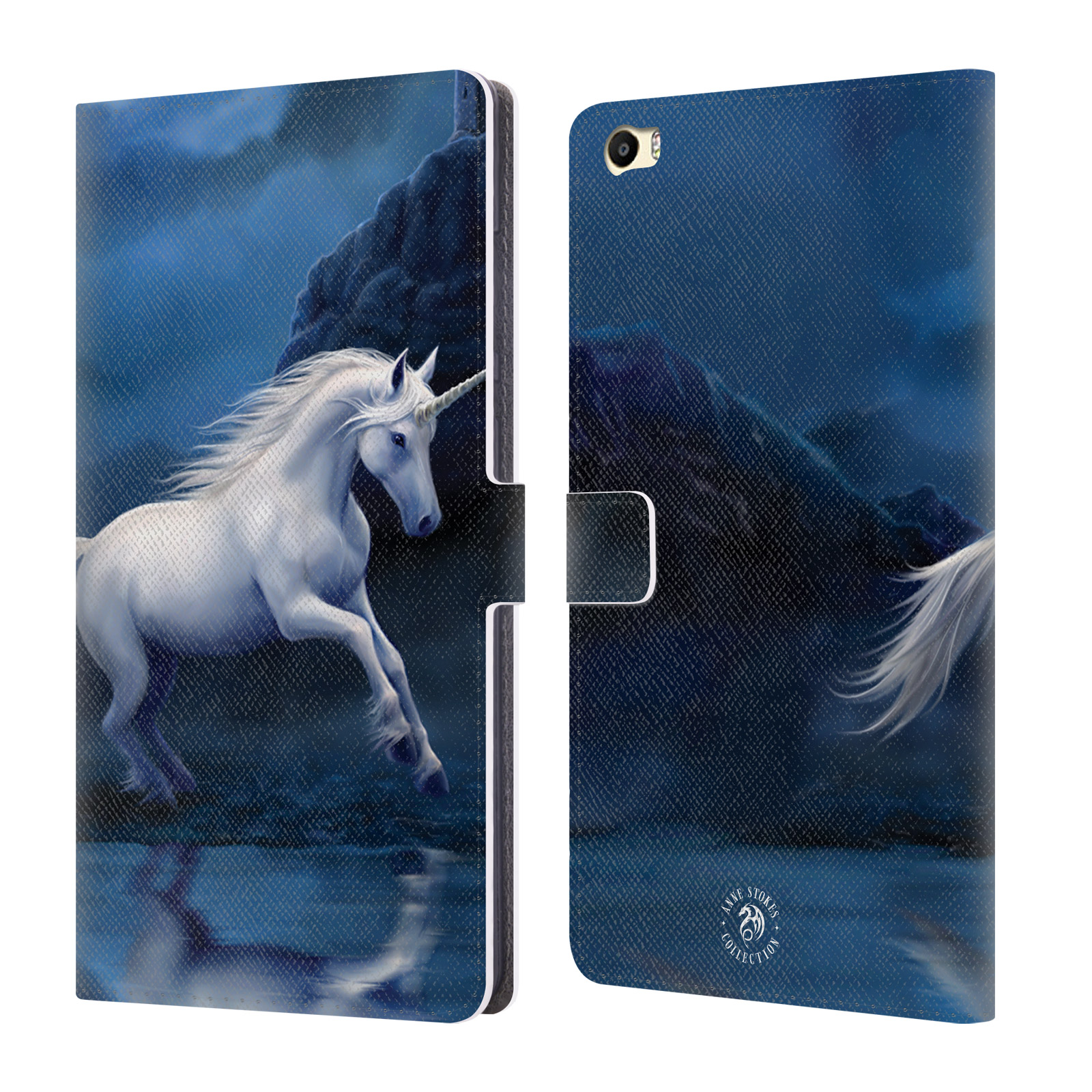 OFFICIAL ANNE STOKES MYTHICAL CREATURES LEATHER BOOK WALLET CASE COVER FOR HUAWEI PHONES