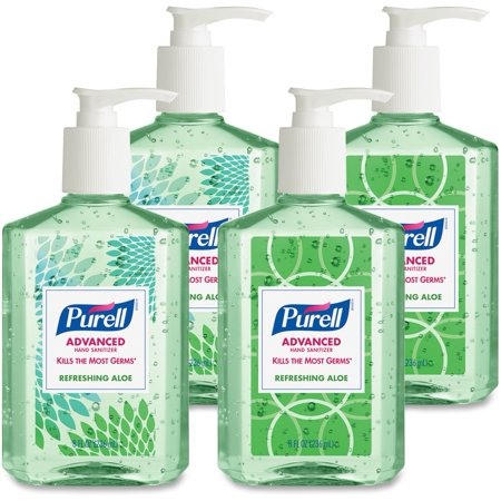 Refreshing Hand Wash - (Pack of 4) PURELL® Refreshing Aloe Hand Sanitizer, 8 Oz