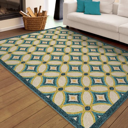orian rugs indoor outdoor bright grezzana multi colored area rug. Black Bedroom Furniture Sets. Home Design Ideas