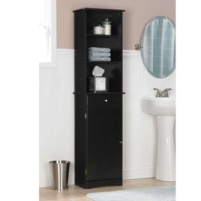 Bathroom Storage Cabinet Metal ameriwood bathroom storage cabinet - walmart