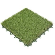 Fyydes Artificial Grass 3cm Turf Plastic Grass Bottom Waterproof Grass Board Splice Board Lawn Artificial Rug Plastic Mat