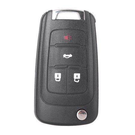 GZYF 1PC 4 Buttons Replacement Outer Key Shell Case For BUICK LaCrosse/ Regal/Verano GMC Terrain