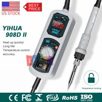 YIHUA 908D 220V Soldering Station Mini Portable Adjustable Electric Soldering Iron Welding Tool Welding Repair
