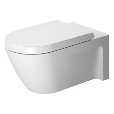 Duravit 2533090092 Starck 2 Dual Flush Two-Piece Elongated Toilet ...