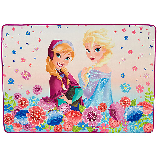 "Disney's Frozen Polyester Area Rug, 40"" x 56"""