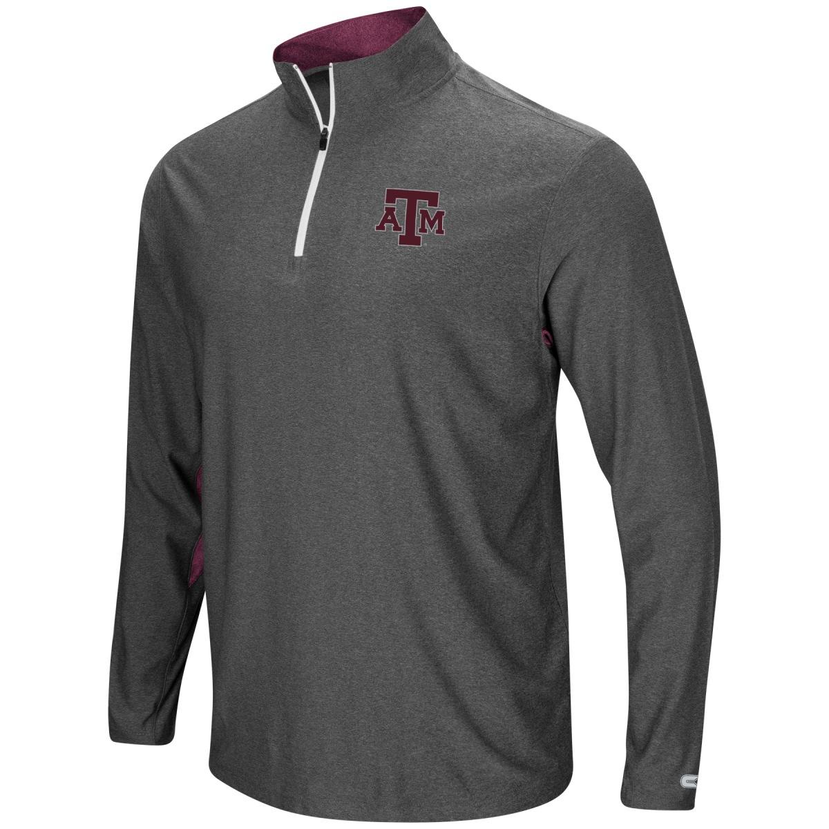 """Texas A&M Aggies NCAA """"Sweet Spot"""" 1/4 Zip Pullover Men's Wind Shirt"""