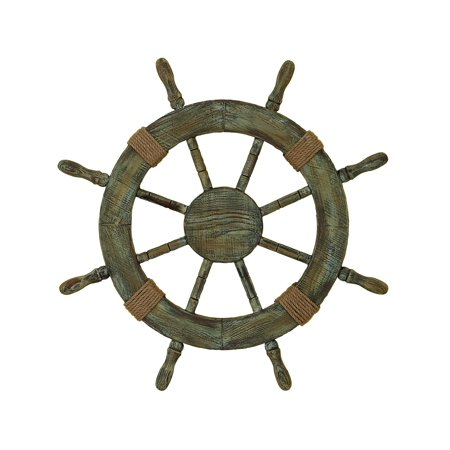 - Wood Ship Wheel Brings Nautical Life In Your Home