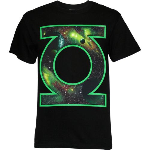 Green Lantern Symbol Space Within T-Shirt