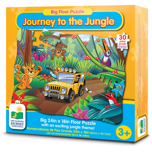 The Learning Journey Big Floor Puzzle, Journey to the Jungle