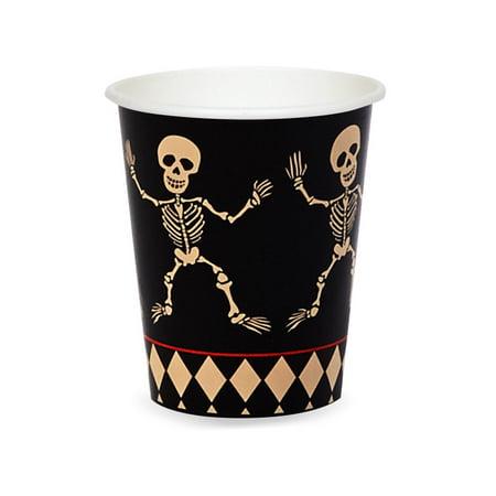 Skull Mansion 9 oz Paper Cups, 8pk for $<!---->
