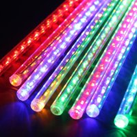 Perfect Holiday MTR-30MT 8 Tubes - 30 cm Snowfall Meteor LED Light, Multicolor