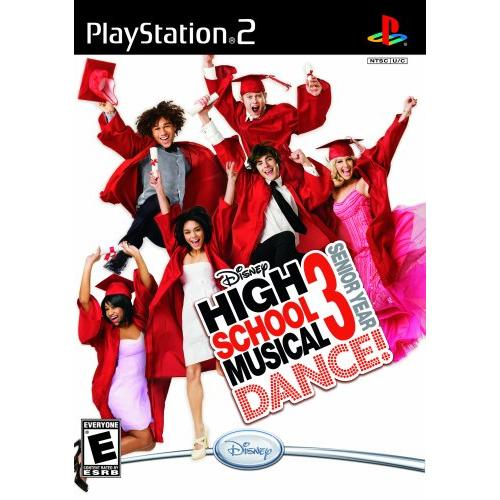 Disney Interactive Ps2dis00470 00470 High School Musical 3 Senior Year[07028000]