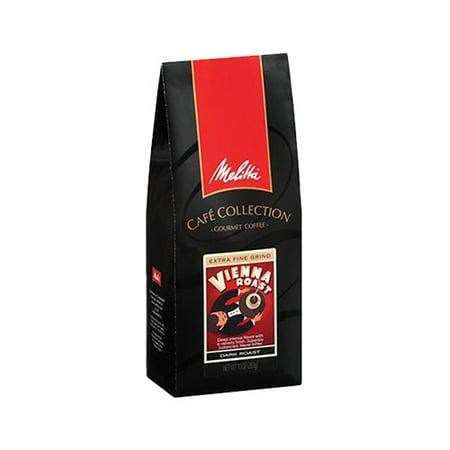 Cafe De Colombia Jersey (Melitta Cafe de Europa Dark Roast Extra Fine Grind Vienna Roast Gourmet Coffee, 10 oz)
