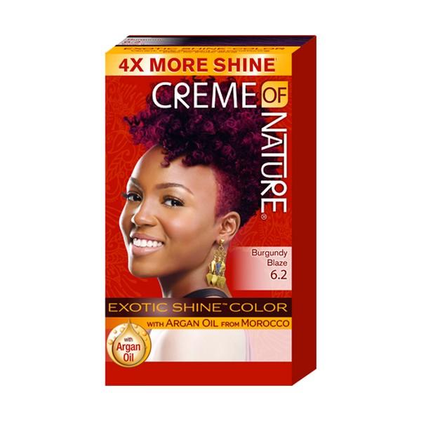 Creme Of Nature Gel Hair Color Burgundy Blaze