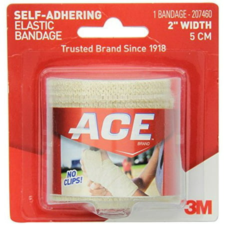 ACE Self-Adhering Elastic Bandage, 2 Inches (Pack of 3)