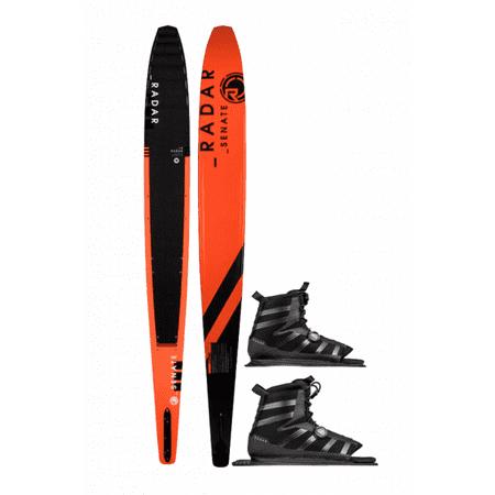 Radar Graphite Senate Water Ski w/ Double BOA Vector Boot 2019