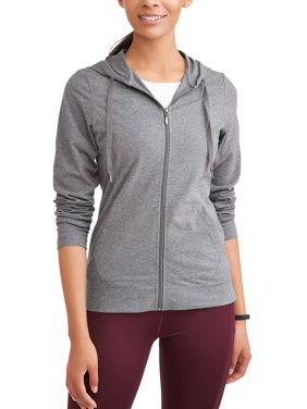 Athletic Works Women's Dri More Core Active Full Zip Hoodie