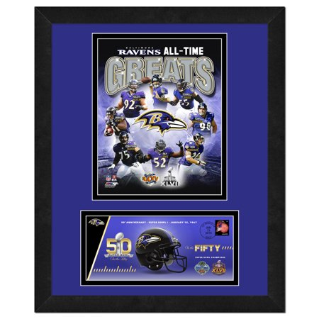 Baltimore Ravens   Commemorative Super Bowl Cover And Photo With Envelope  All Time Greats