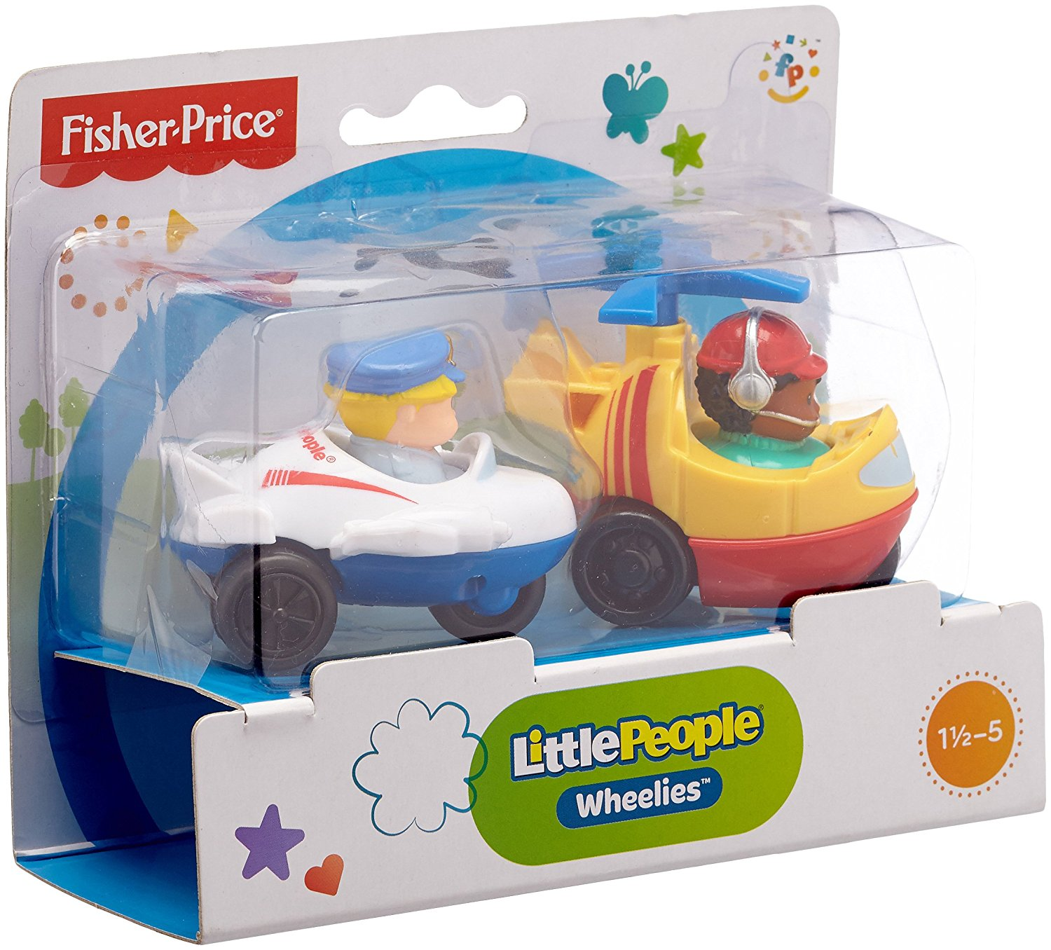 Fisher-Price Little People Wheelies Transportation Assort...