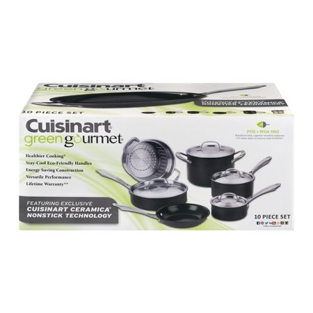 Click here for Cuisinart Green Gourmet Non-Stick Cookware - 10 PC... prices