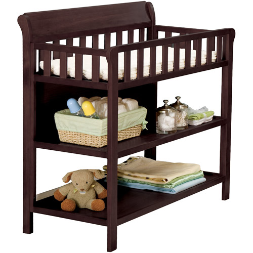 Delta Children's Products Glenwood Changing Table, Espresso Cherry