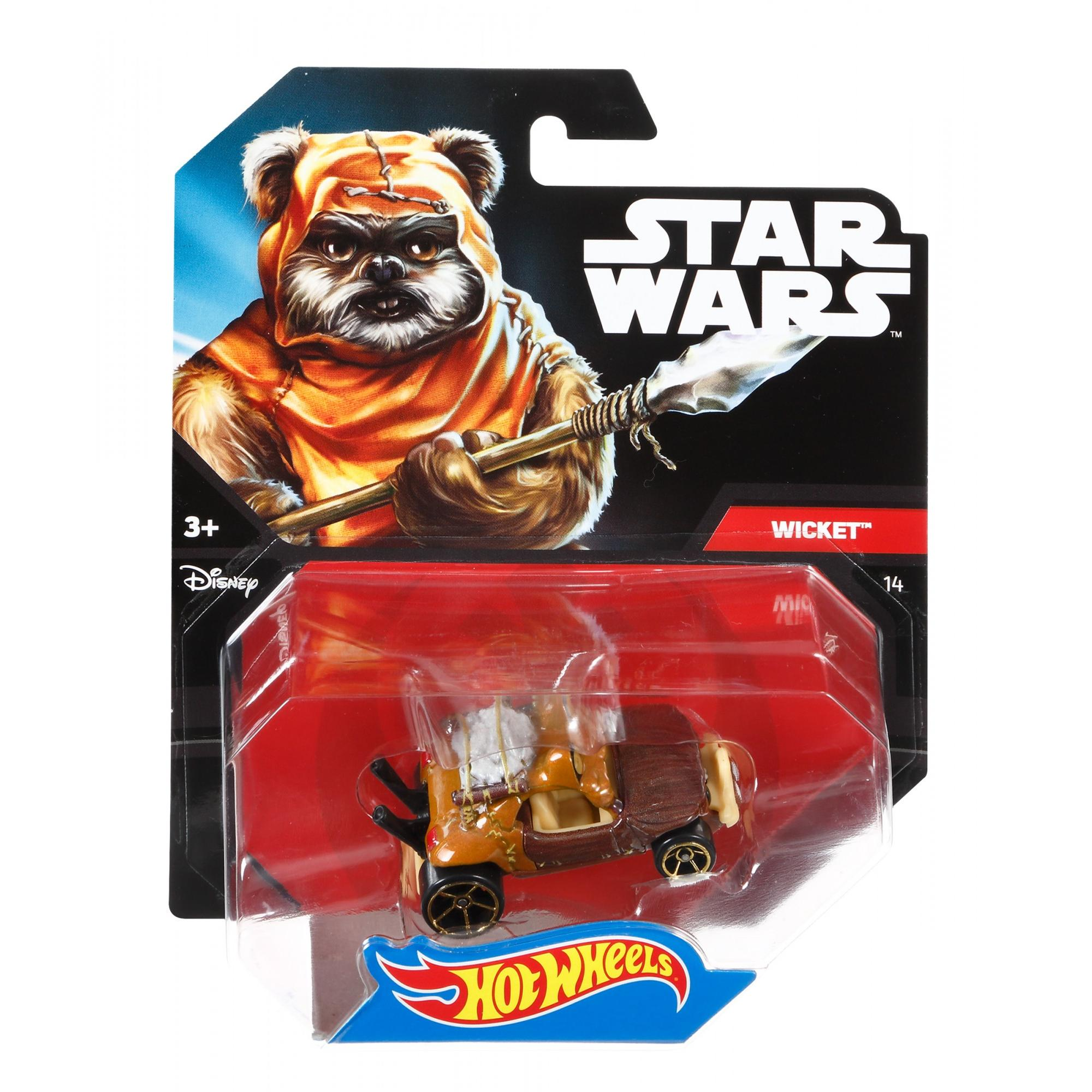 Hot Wheels Star Wars Wicket Character Car