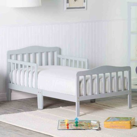Orbelle Contemporary Safe Solid Wood Toddler Bed Toddler