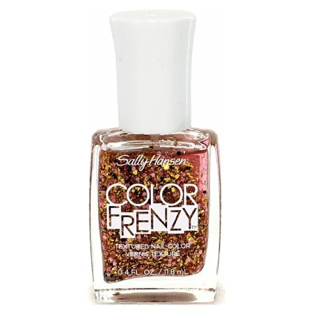 (6 Pack) SALLY HANSEN Color Frenzy Textured Nail Color - - Halloween Splatter Nails