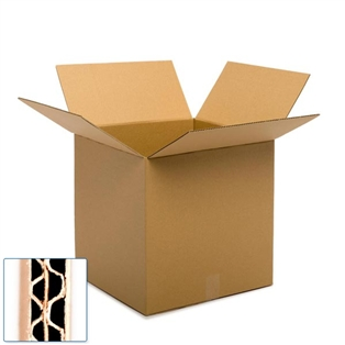 24L x 24W x 24H in. Recycled Kraft Moving Boxes, 10 count