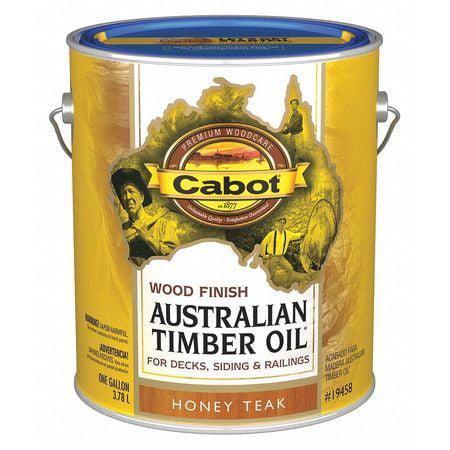 Cabot Exterior Stain, Honey Teak 140.0019458.007