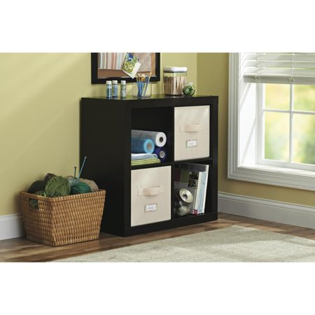 Better Homes And Gardens Square 4 Cube Storage Organizer Multiple Colors Best Bookcases