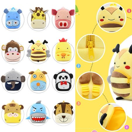 Lovely Animal Series Cute Children Schoolbag Lightweight Backpack For Kids Kindergarten Students School Bag Shoulder Bag - image 5 of 7