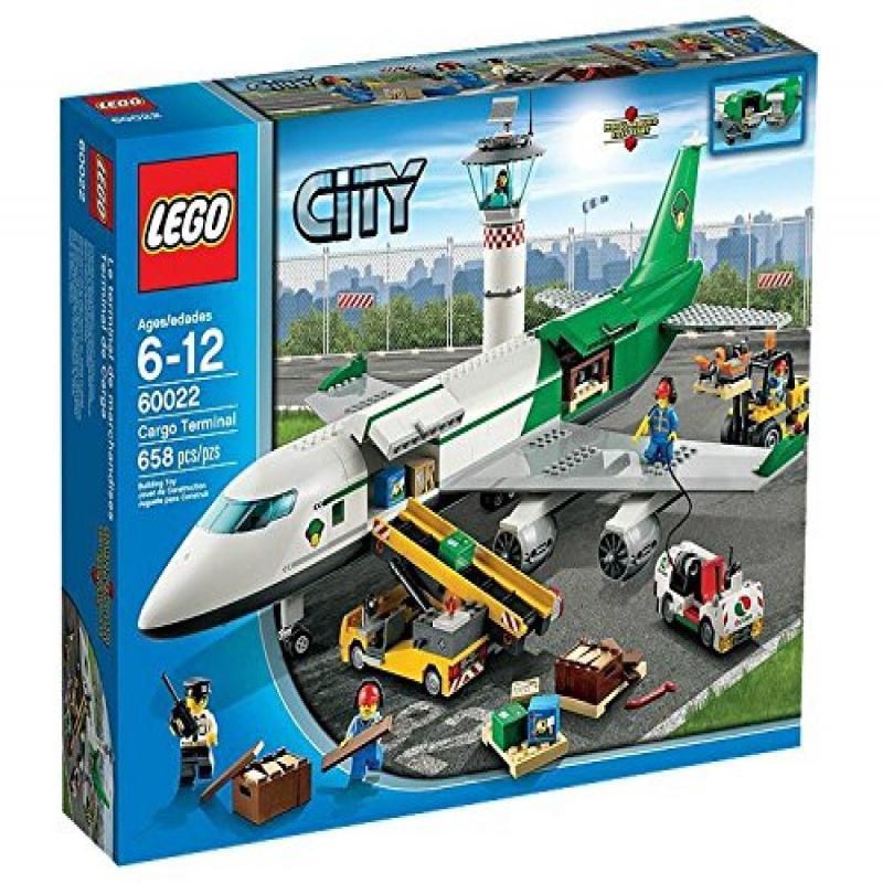 Lego City 60022 Cargo Terminal Toy Building Set (Disconti...