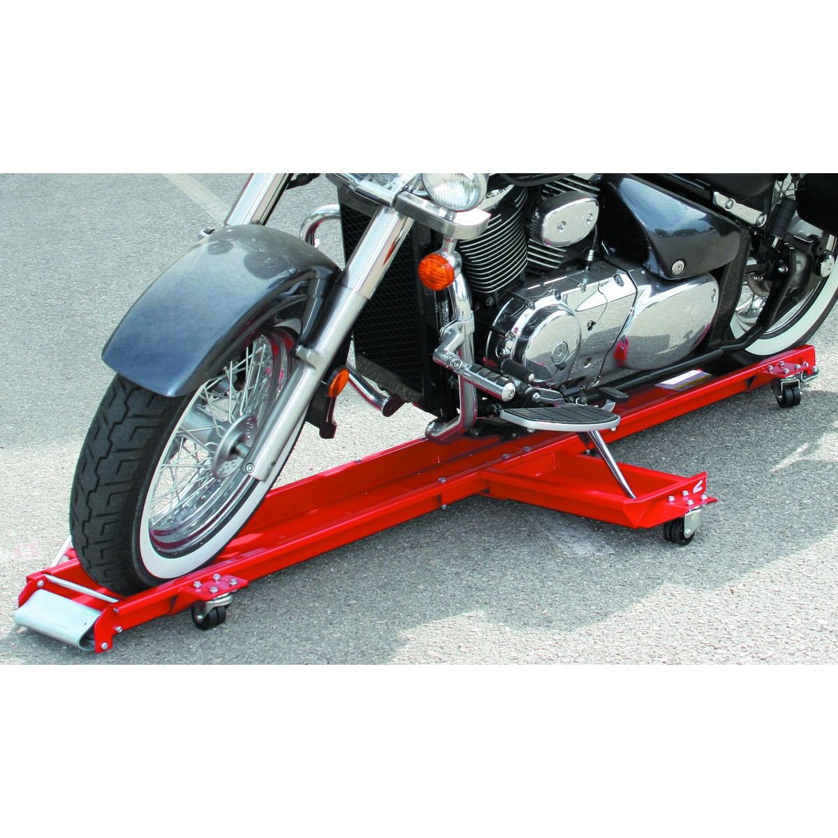 1250 lb. Capacity Low Profile Motorcycle Dolly by Pittsburgh